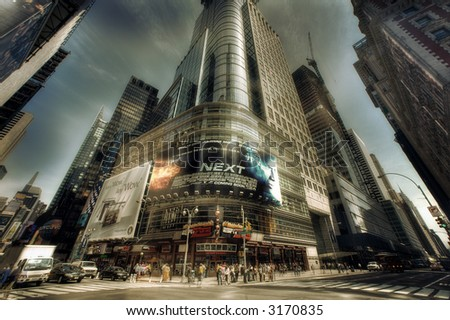 Times Square - Manhattan,New York City, United states of America - stock photo