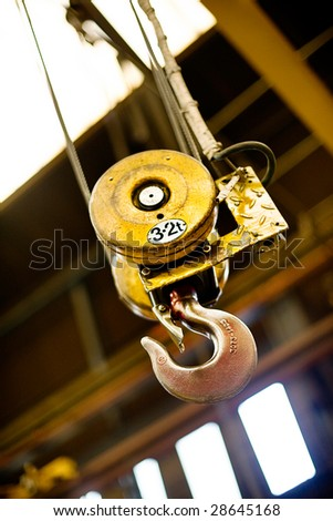 3.2 Ton Hydraulic Cable Winch - stock photo