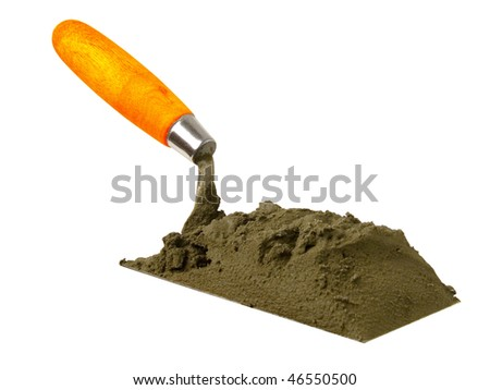 Tool; building;  shovel - stock photo
