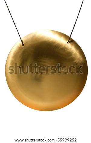 Tool  gong - stock photo