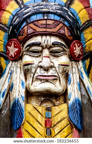 Totem poles are monumental sculptures carved by indigenous peoples of the  Pacific Northwest Coast - stock photo