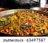 traditional and national spanish meal a paella - stock photo