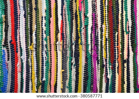 traditional woven texture - stock photo