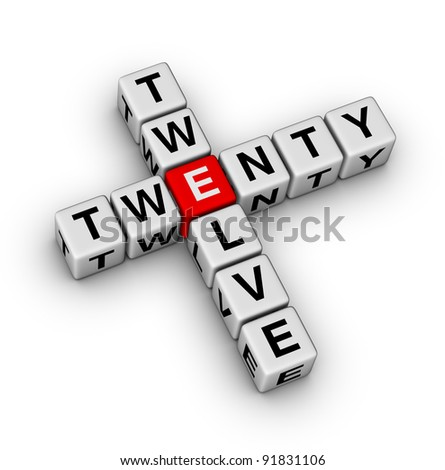 2012 - twenty twelve crossword