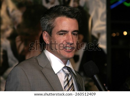 "01/27/2005 - Universal Studios Hollywood - Dermot Mulroney at the Premiere of ""The Wedding Date""."