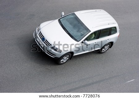 "vehicle of my ""suv cars"" series - stock photo"