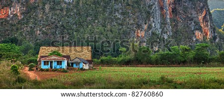 Vinales Valley, Cuba. - stock photo