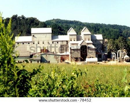 Vintage Brick Factory in Pennsylvania - stock photo