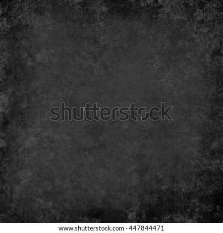 vintage grunge fiber texture and soft faded gray and black vignette border on frame with light center for copy space for text or image or note - stock photo