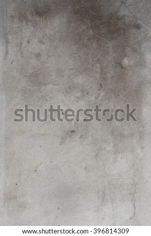 wall background with gray cement  plaster