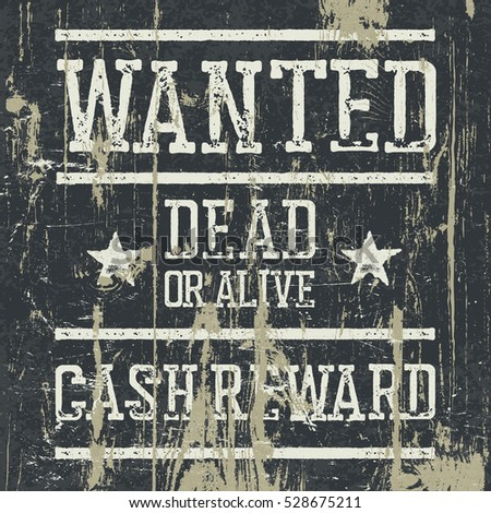 Cowboy Wanted Poster Photos RoyaltyFree Images Vectors – Wanted Poster Letters