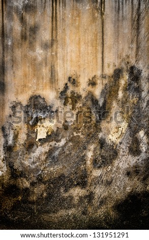 weathered concrete wall background - stock photo