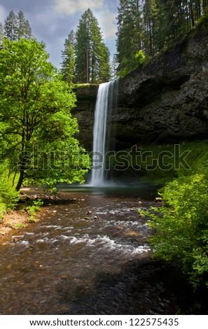 Western Waterfalls 9 - stock photo