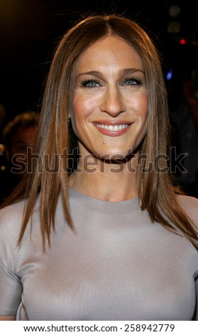 "12/06/2005 - Westwood - Sarah Jessica Parker attends the ""The Family Stone"" Los Angeles Premiere at the Mann Village Theater in Westwood, California, United States."