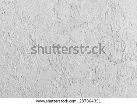 white decoration cement wall  - stock photo