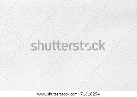 white quilted leather background