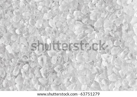 white salt texture - stock photo