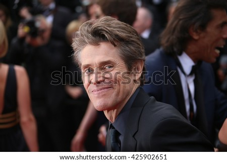 Willem Dafoe attends the Closing Ceremony of the 69th annual Cannes Film Festival at the Palais des Festivals on May 22, 2016 in Cannes, France. - stock photo