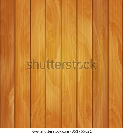 wood background- texture of light brown wooden planks - stock photo
