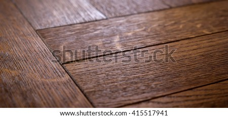 wood floor texture. Wood processing. Joinery work. use as background. small depth of field - stock photo