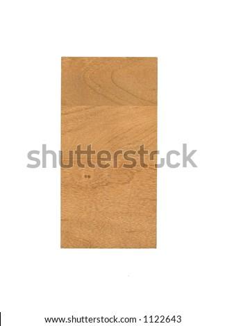 Wood Sample - stock photo