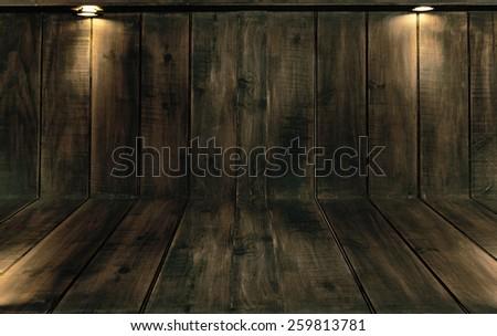 wooden floor - texture Background - stock photo