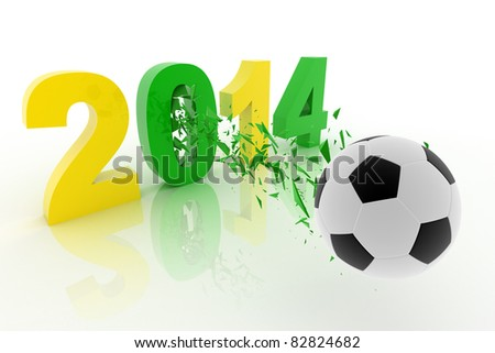 2014 World Cup - stock photo
