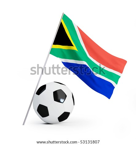 2010  World Cup South Africa - stock photo