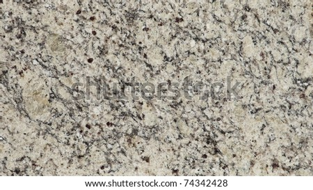 1x4ft Sample of Brazilian Venetian White Granite - stock photo