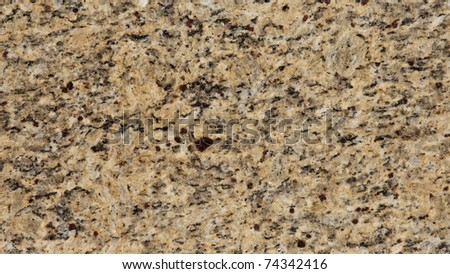 1x4ft Sample of Giallo Ornamental Classic Granite - stock photo
