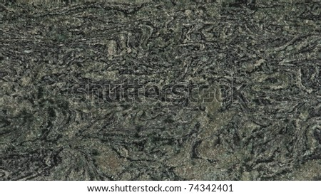 1x4ft Sample of Savannah Green Granite - stock photo