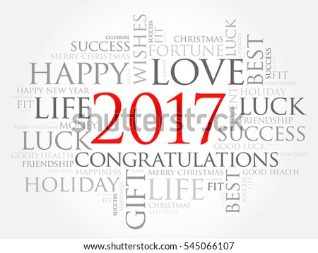 2017 year greeting word cloud collage stock illustration 545066107 2017 year greeting word cloud collage happy new year celebration greeting card m4hsunfo Image collections