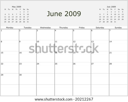 May 2009 Calendar 68246 Applestory
