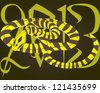 2013 year of the snake - stock photo