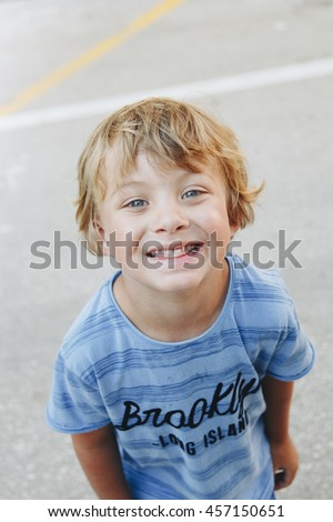 4-year-old boy in Croatia