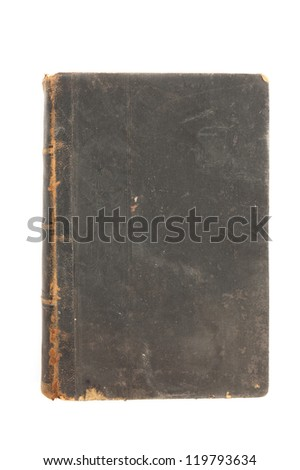 100 year old leather book. Has that beautiful patina that only centuries can create.