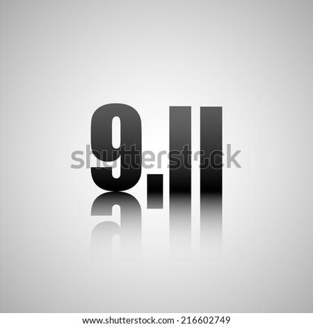 9.11 - stock photo
