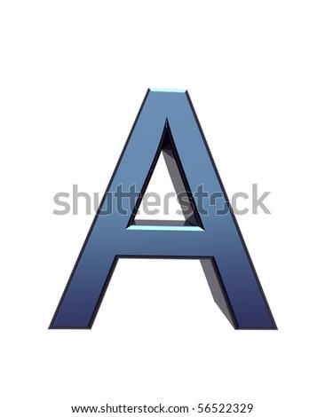 A - stock photo