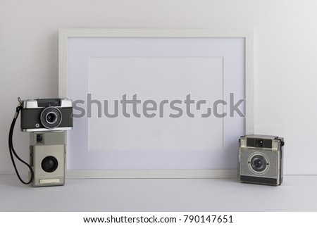 A 4 A 3 A 5 White Wooden Picture Stock Photo (Royalty Free ...