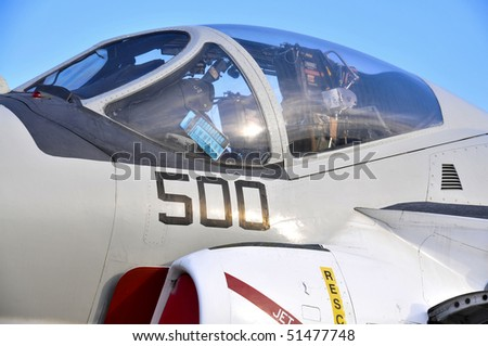 A A6 Intruder Attack Fighter Bomber Jet - stock photo