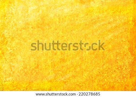 a abstract yellow background - stock photo