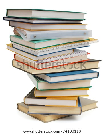 A abstracted of learning subject - stock photo