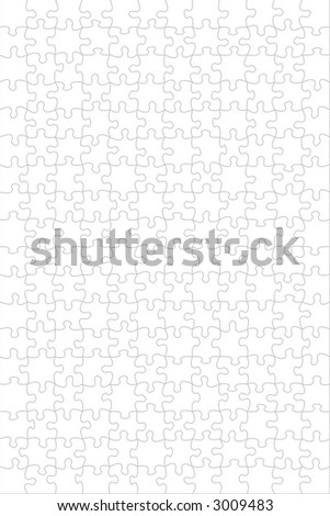 A background empty puzzle. High quality image - stock photo