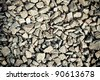 a background made of a lot of stones - stock photo
