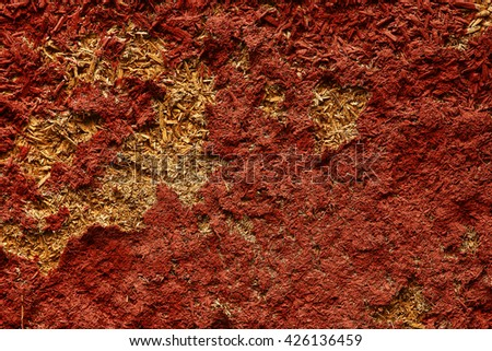 a  background of old  peeling wall - stock photo