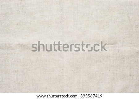A background texture of burlap cloth/ Sackcloth woven texture pattern background in dark cream beige brown color tone: