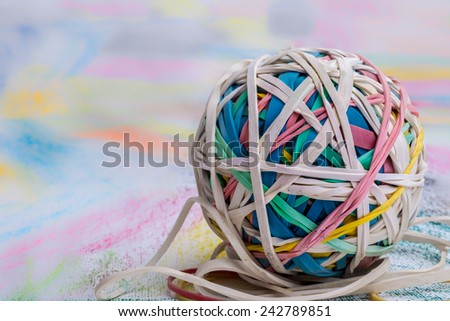 Natural Colored Elastic Bands For Sewing
