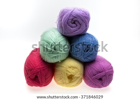 A ball of wool - stock photo