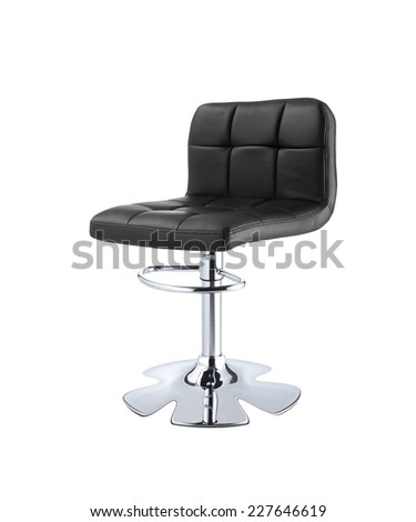 A barber chair - stock photo