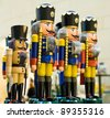 A batch of nutcrackers - stock photo